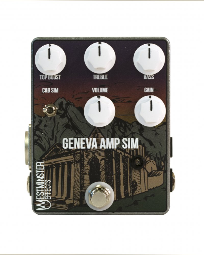 Image 0 of WESTMINSTER EFFECTS Geneva Amp Sim Pedal