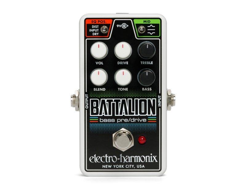 Image 0 of Electro-Harmonix Nano Battalion Bass Preamp Overdrive Pedal