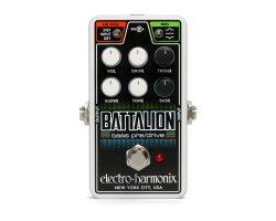 Electro-Harmonix Nano Battalion Bass Preamp Overdrive Pedal