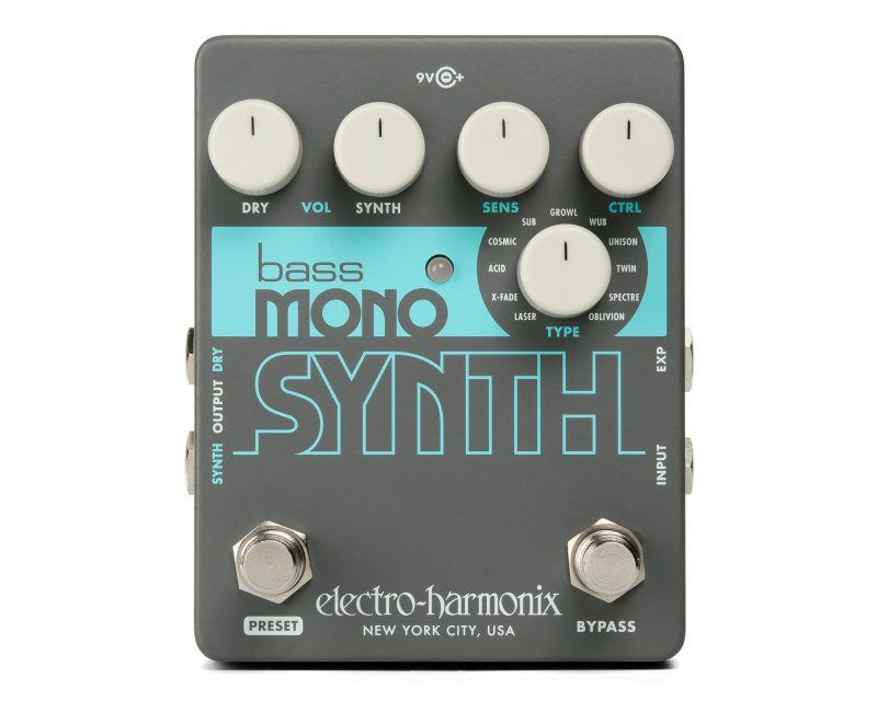 Image 0 of Electro Harmonix Bass Mono Synth Synthesizer Pedal