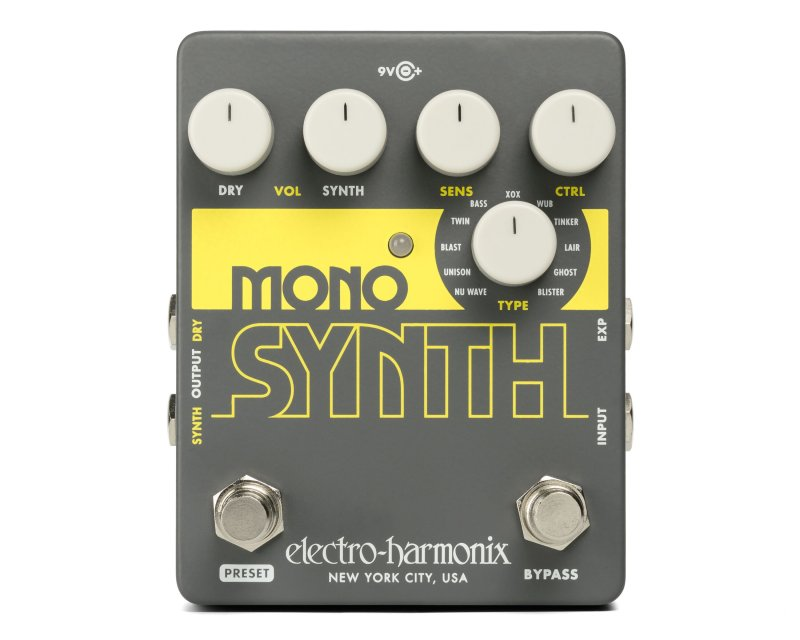 Image 0 of Electro Harmonix Guitar Mono Synth Synthesizer Pedal