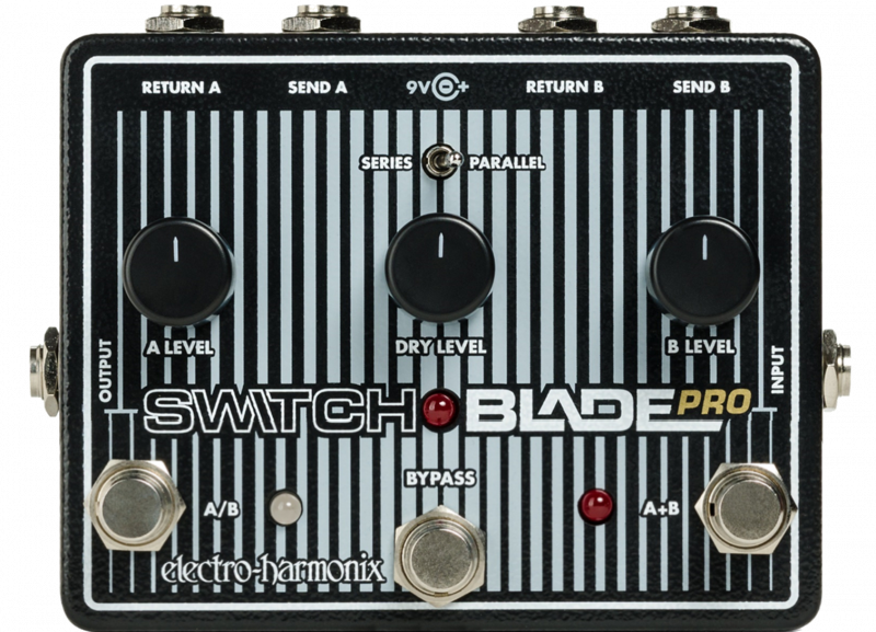 Image 0 of Electro-Harmonix Switchblade PRO Channel Selector Guitar Pedal EHX