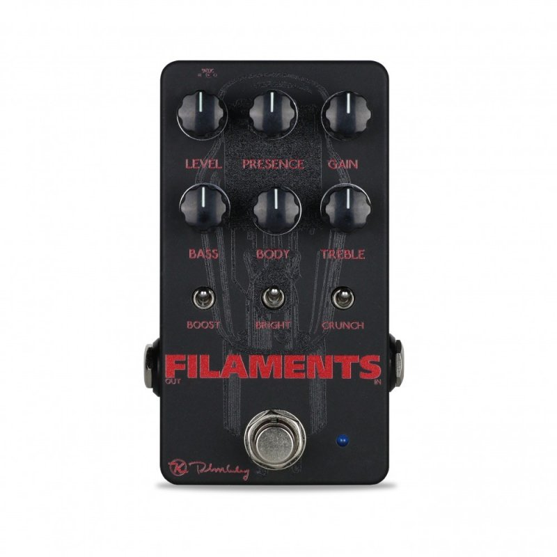 Image 0 of Keeley Filaments High Gain Distortion Tube Amp Pedal