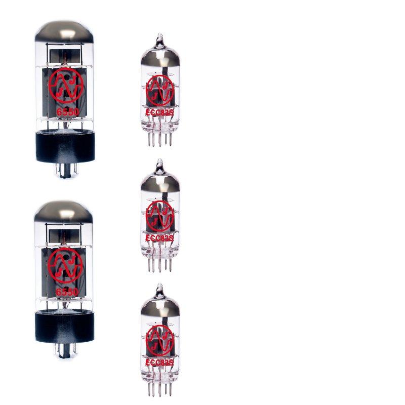 Image 0 of JJ Tube Kit Set for Trace Elliot Twin Valve Amp