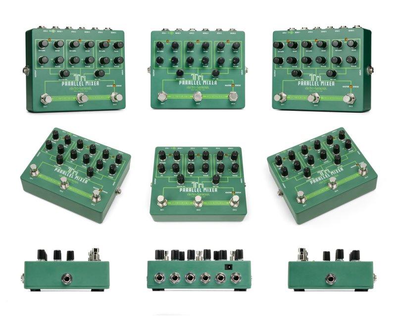 Image 2 of Electro Harmonix Tri Parallel Mixer Pedal