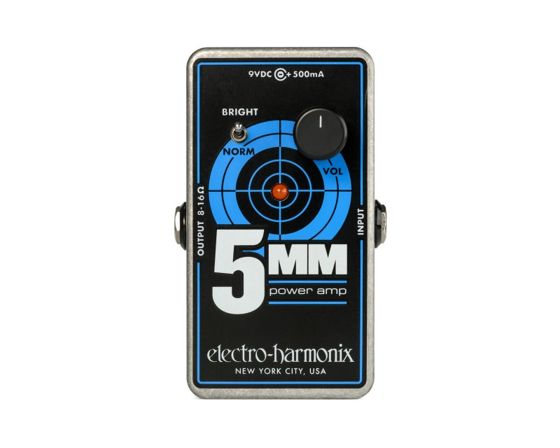 Image 0 of Electro-Harmonix 5mm Power Amplifier Guitar Amp Pedal