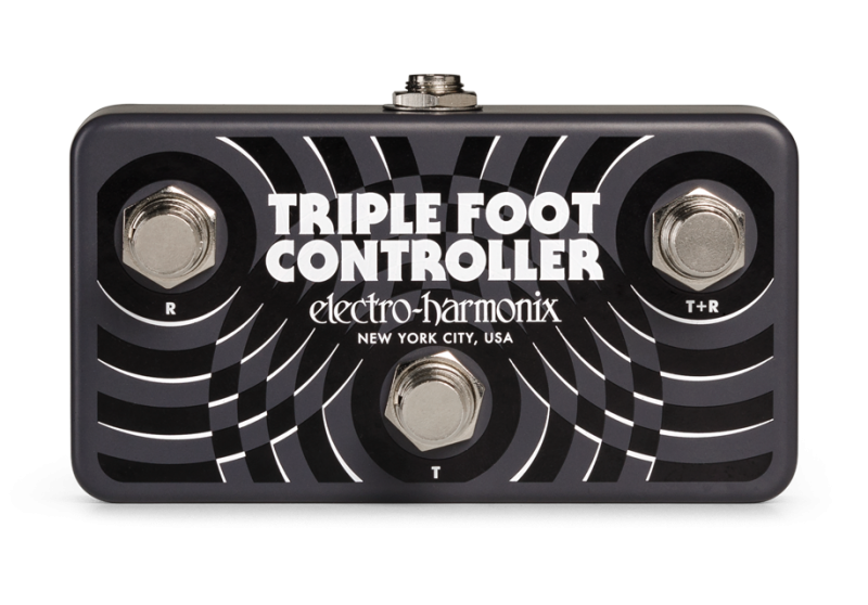Image 0 of Electro Harmonix Triple Foot Controller Remote Footswitch