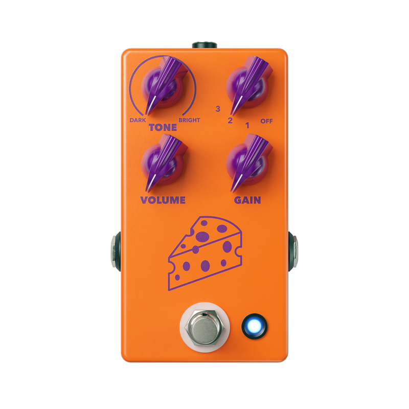 Image 0 of JHS Cheese Ball Distortion Fuzz Pedal