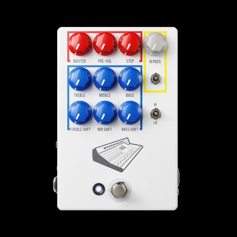 Image 0 of JHS Colour Box V2 Preamp / EQ / Overdrive / Distortion / Fuzz / DI Box