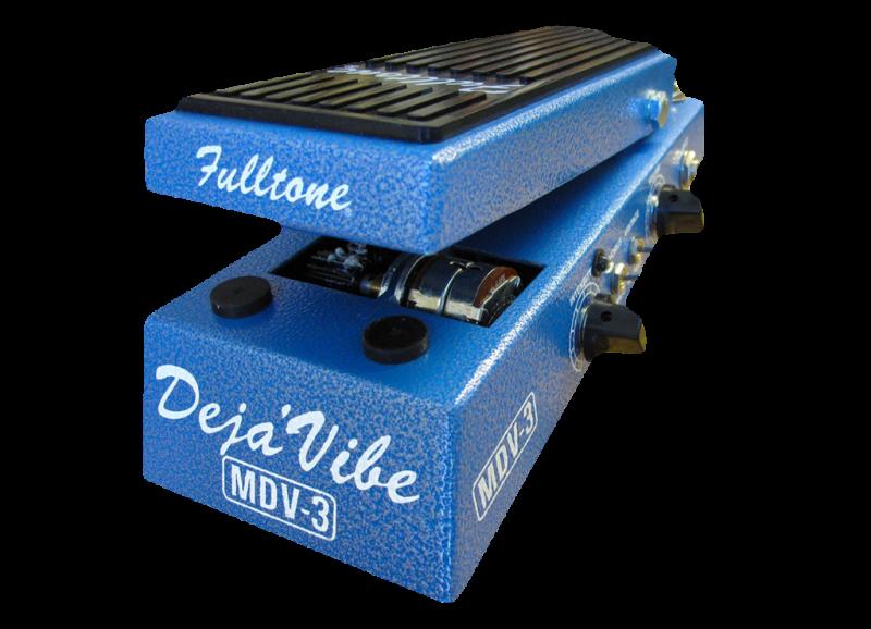 Image 0 of Fulltone Fulltone Custom Shop Mini Deja Vibe 3 V2 UNIVIBE