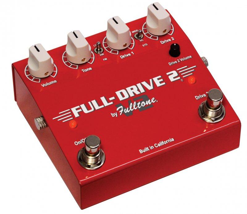 Image 0 of Fulltone Full-Drive2 V2 Dual Channel Overdrive Pedal