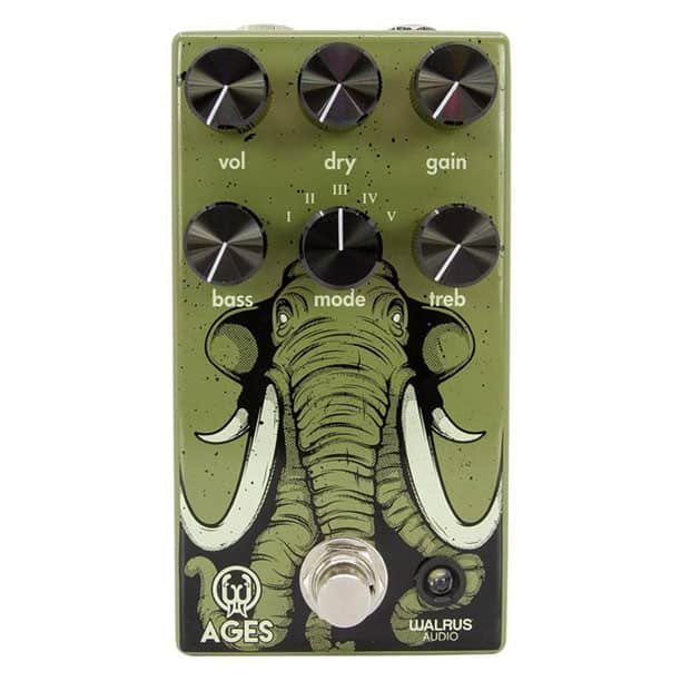 Image 0 of Walrus Audio Ages Five-State Overdrive Pedal