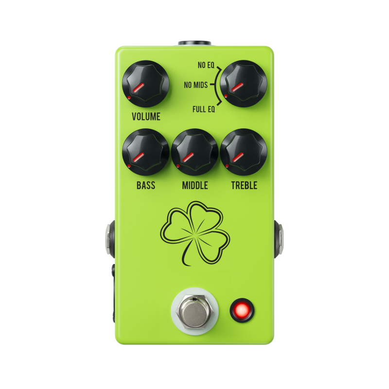 Image 0 of JHS Clover Preamp Boost EQ Pedal