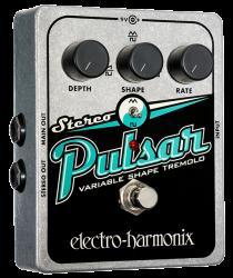 Electro-Harmonix Stereo Pulsar Variable Shape Analog Tremolo Pedal