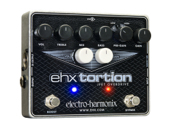 Electro-Harmonix EHX Tortion EHXTORTION JFET Overdrive Distortion Pedal