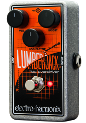 Electro-Harmonix Lumberjack Logarithmic Overdrive Overdrive Distortion Pedal