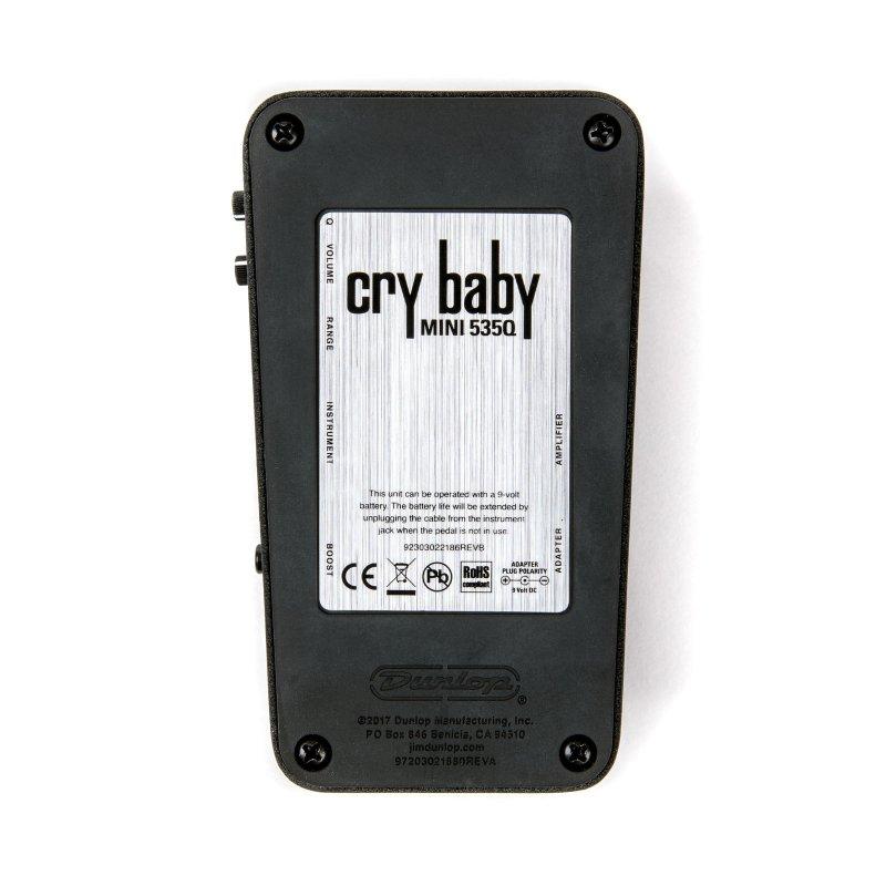 Image 2 of Dunlop Crybaby 535Q Mini WAH Pedal CBM535Q