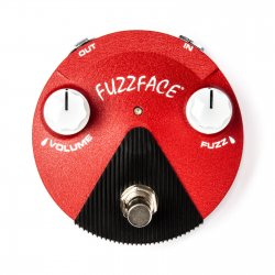 Dunlop Jimi Hendrix Band of Gypsys Fuzz Face Mini Distortion Fuzz FFM6
