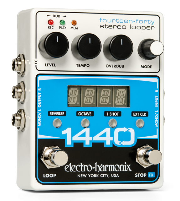 Image 0 of Electro Harmonix 1440 Stereo Recording Looper Guitar Effects Pedal EHX