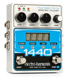 Electro Harmonix 1440 Stereo Recording Looper Guitar Effects Pedal EHX