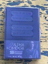 Seymour Duncan Mark Holcomb Alpha Omega Set Black 6 String
