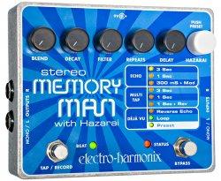 Electro Harmonix Stereo Memory Man Delay with Hazarai