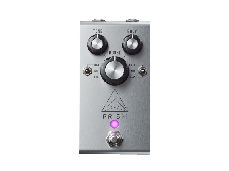 Image 0 of Jackson Audio Prism Boost Pedal - Silver