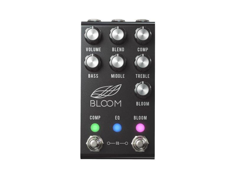 Image 0 of Jackson Audio Bloom V2 MIDI Pedal Black EQ Boost Compression
