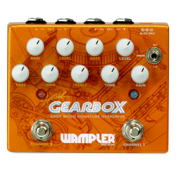 Wampler Gearbox Andy Wood Signature Dual Overdrive Pedal - Tumnus & Pinnacle All