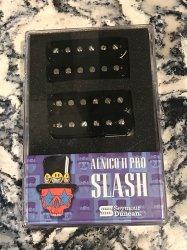 Seymour Duncan Slash APH-2s Alnico II Pro Bridge/Neck Set BLACK
