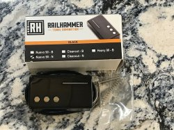 RAILHAMMER Nuevo 90 Neck Black Humcutter Pickup