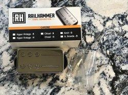 RAILHAMMER Chisel Neck Chrome Humbucker Pickup