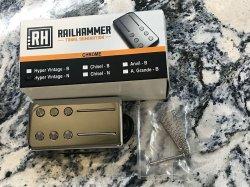 RAILHAMMER Hyper Vintage Neck Chrome Humbucker Pickup