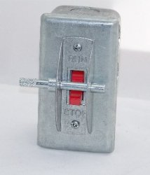 Thumbnail of PIT STOP SWITCH WITH LOCKOUT PIN