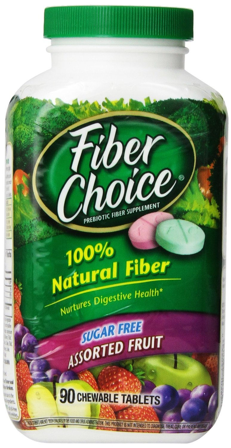 Fiber Choice Mixed Fruit Sugar Free Chewable 90 Ct.