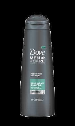Dove Men Care Aqua Impact Fortifying Shampoo 12 Oz