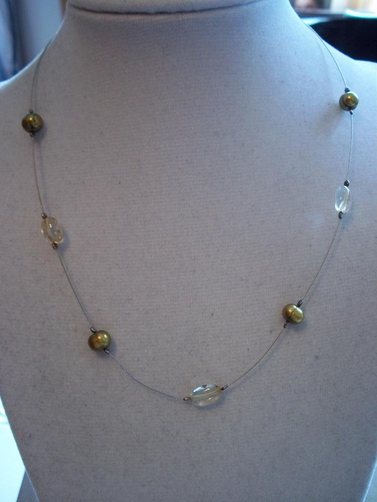 N0598 retired silpada citrine necklace for Cookie lee jewelry catalog 2009