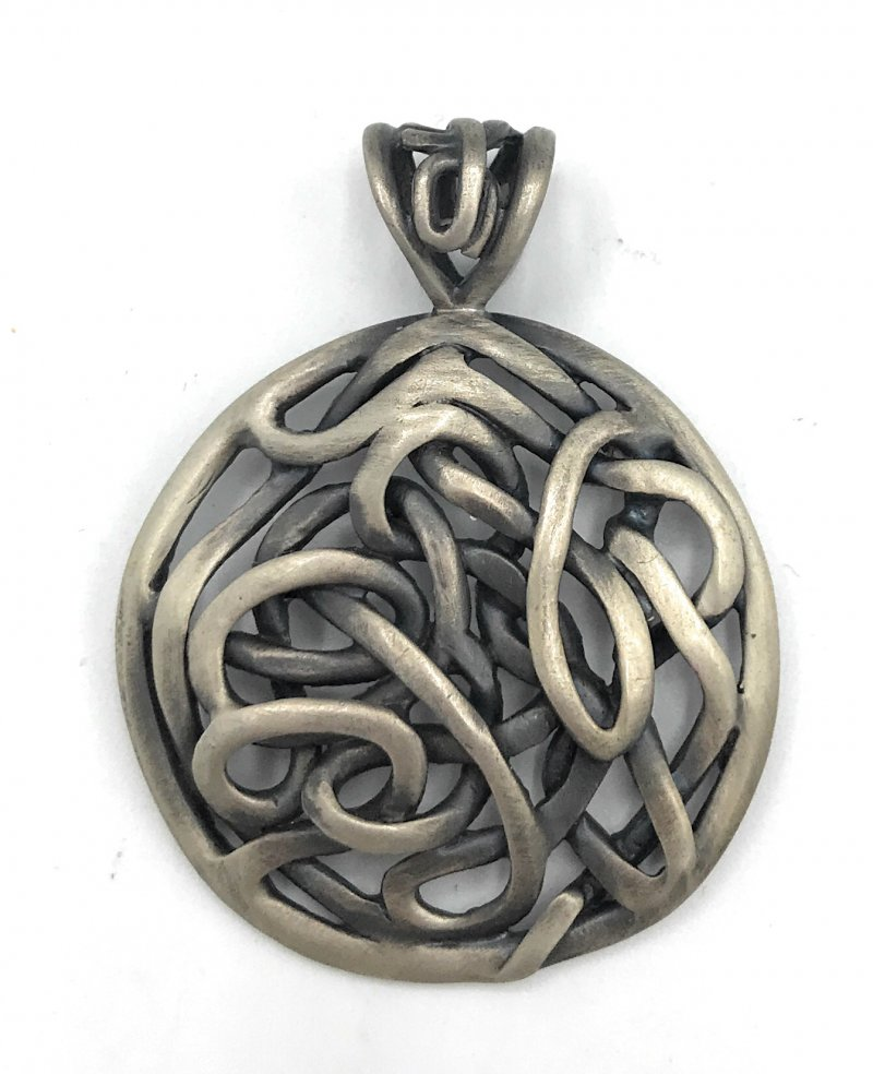 S1691 retired silpada sterling silver intertwined pendant for Cookie lee jewelry catalog 2009