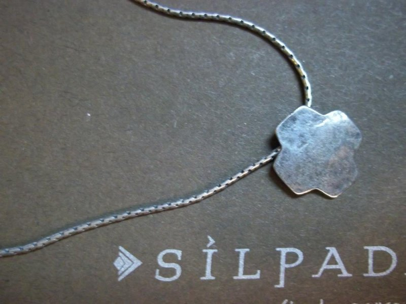 n1791 retired silpada sterling silver cross necklace