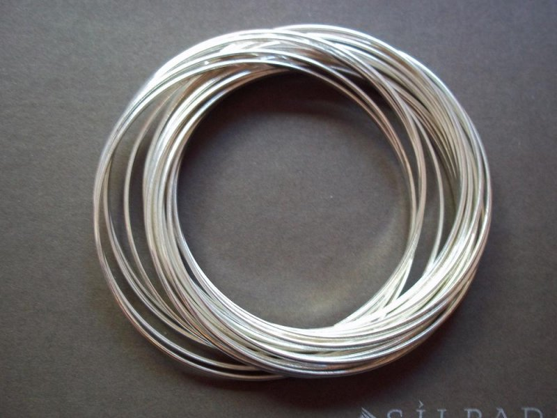 B2961 Silpada Sterling Silver 21 Bangle Salute Bracelet