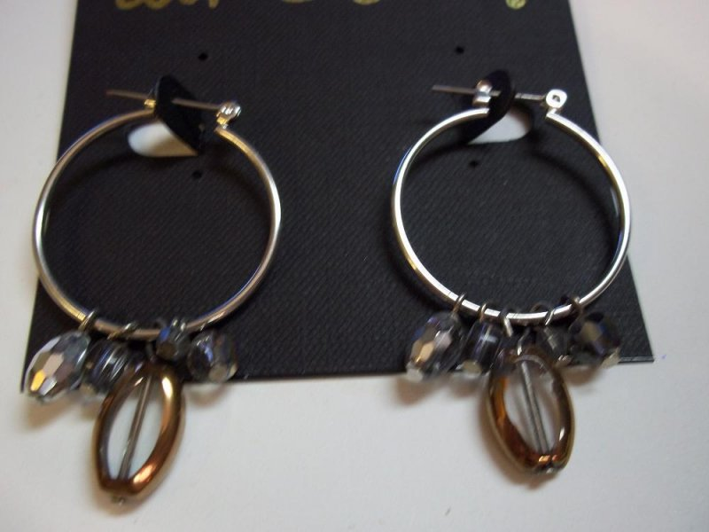 Luminous bronze retired cookie lee earrings for Cookie lee jewelry catalog 2009