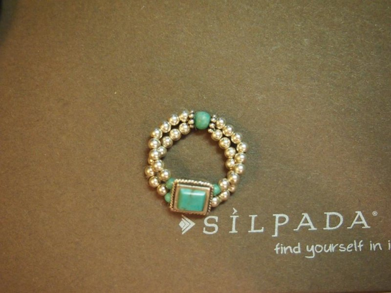 Retired Silpada Turquoise Ring