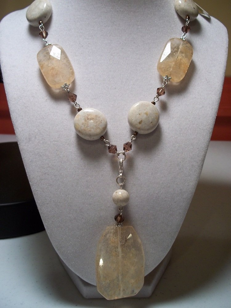 Sand dune retired premier designs necklace for Premier jewelry catalog 2011