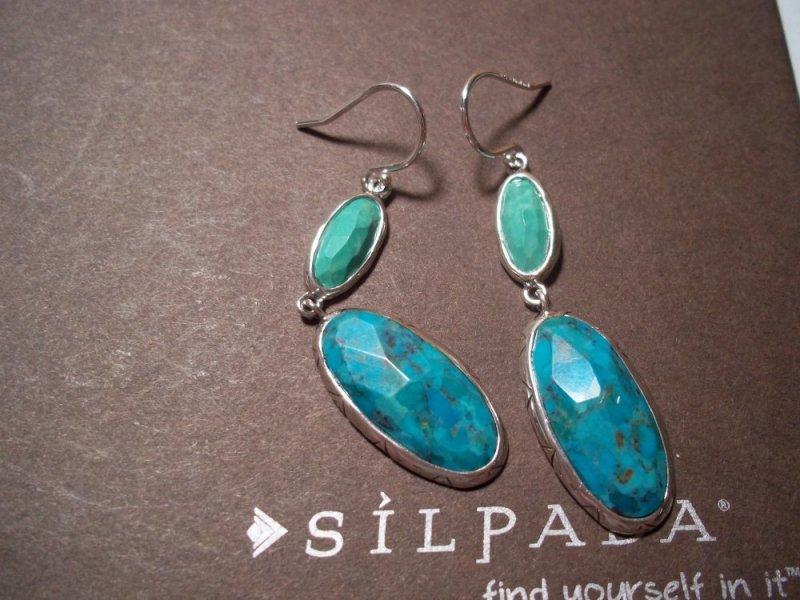 W2839 Silpada Make Memories Earrings