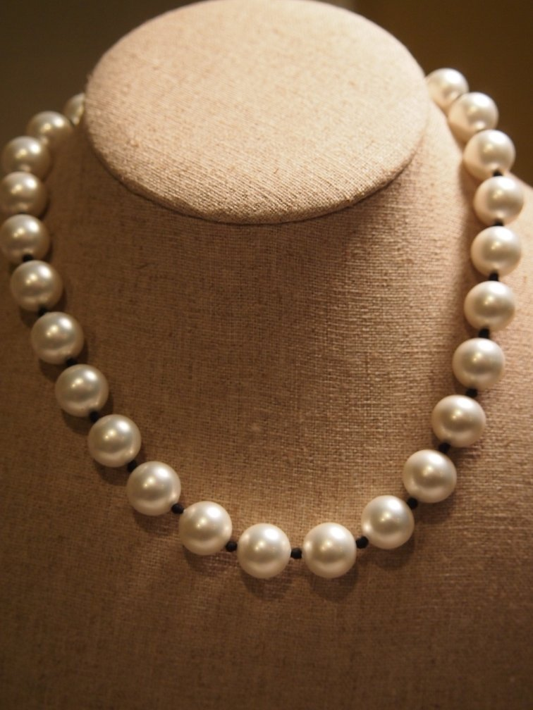 N1074 Retired Opaque Shell Pearl Silpada Necklace 2004