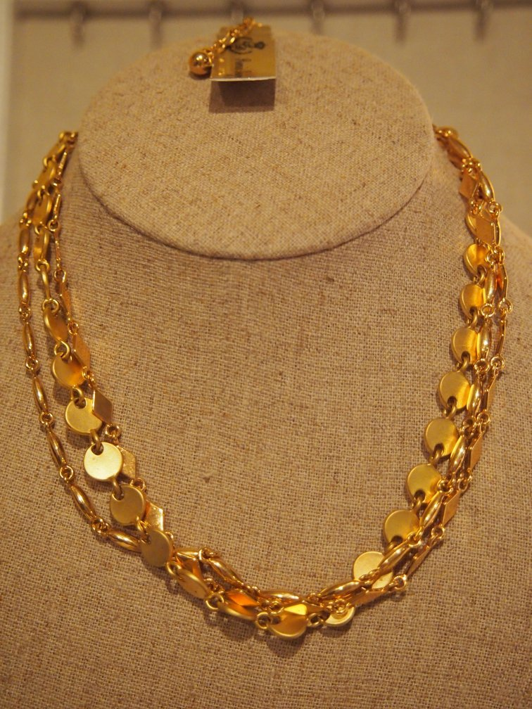 gold rush retired premier designs necklace 2007 catalog