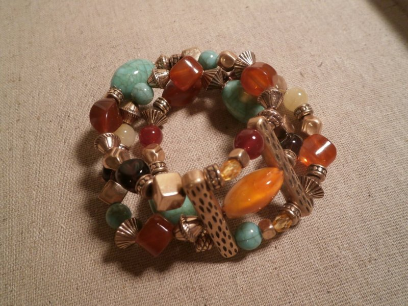 canary isle retired premier designs stretch bracelet
