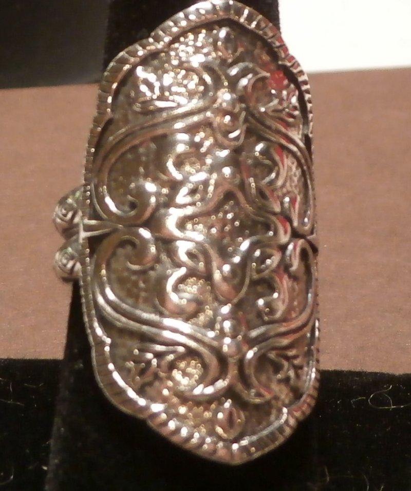 R2809 Silpada Sterling Silver Helen Of Troy Ring Size 11