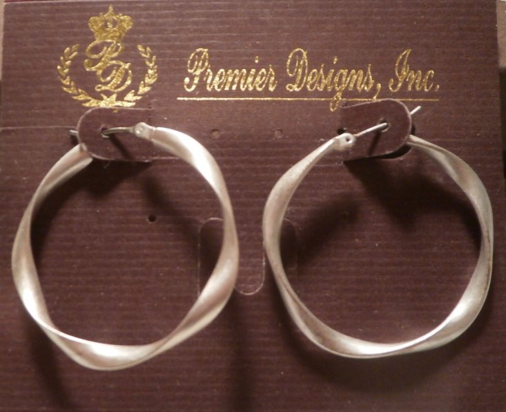 French twist retired premier designs earrings for Premier jewelry catalog 2011