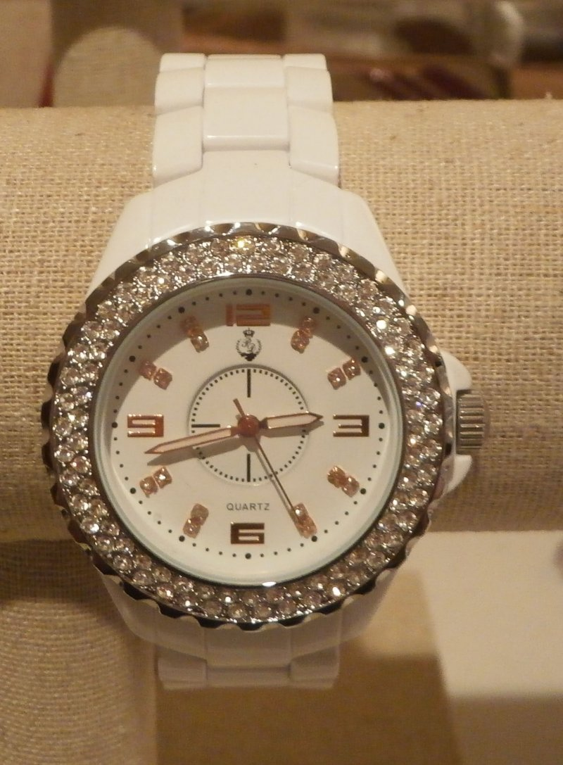 White Hot Premier Designs Watch Used